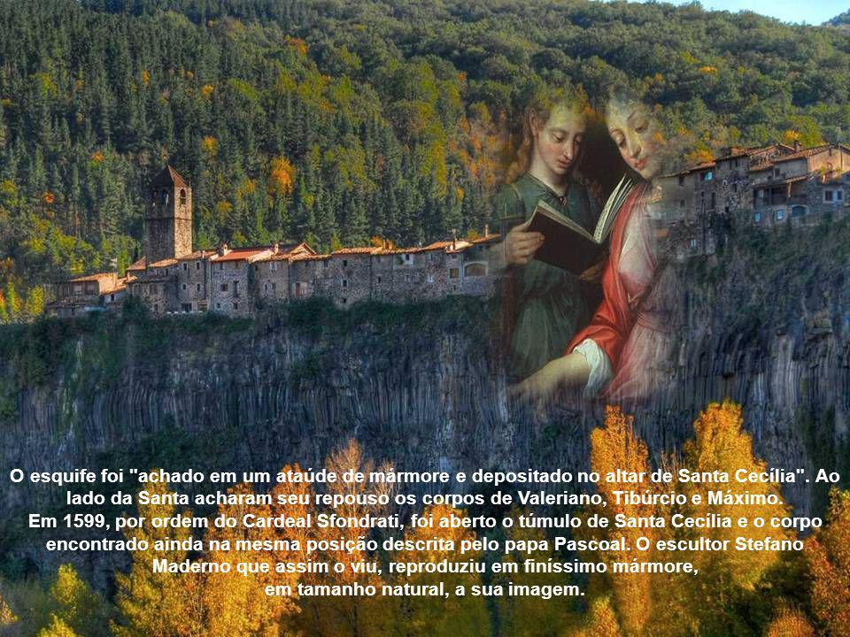 As diversas invasões dos godos e lombardos fizeram com que os Papas resolvessem a transladação de muitas relíquias de santos para igrejas de Roma. O c