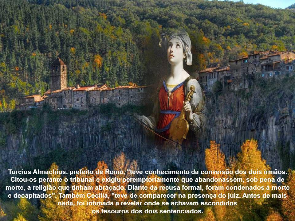 Disse-lhe mais: que a fidelidade ao voto trazia a bênção, a violação, porém, o castigo de Deus. Valeriano ficou