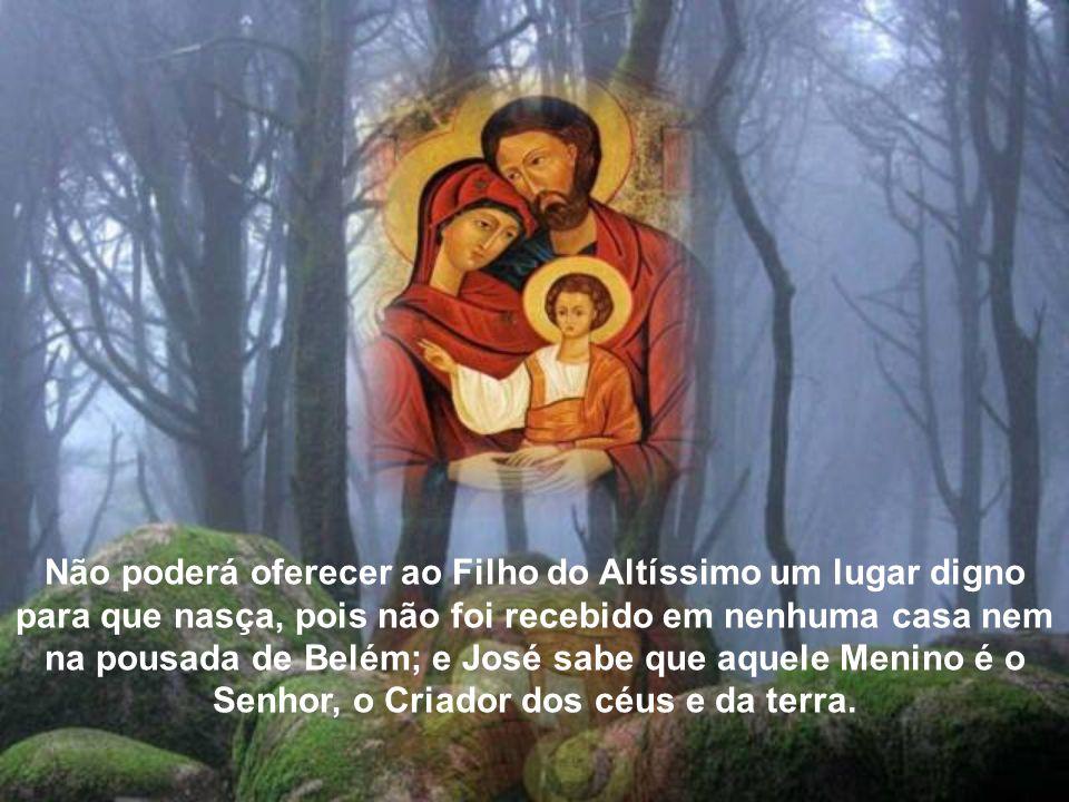 A palavra de Deus transmitida pelo anjo esclarece-lhe a concepção virginal do Salvador, e José crê nela com simplicidade de coração. Mas as névoas não
