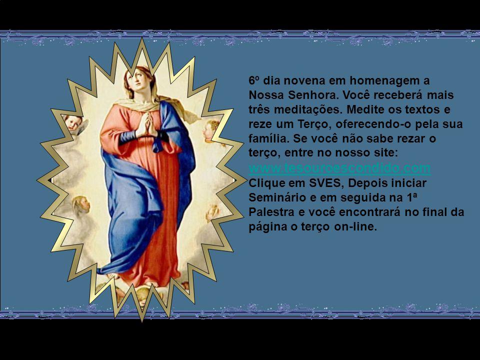 Nesse momento, Maria sofre as dores de parto, não apenas por João, seu segundo filho, mas pelos milhões de outros filhos seus que a chamariam de Mãe a