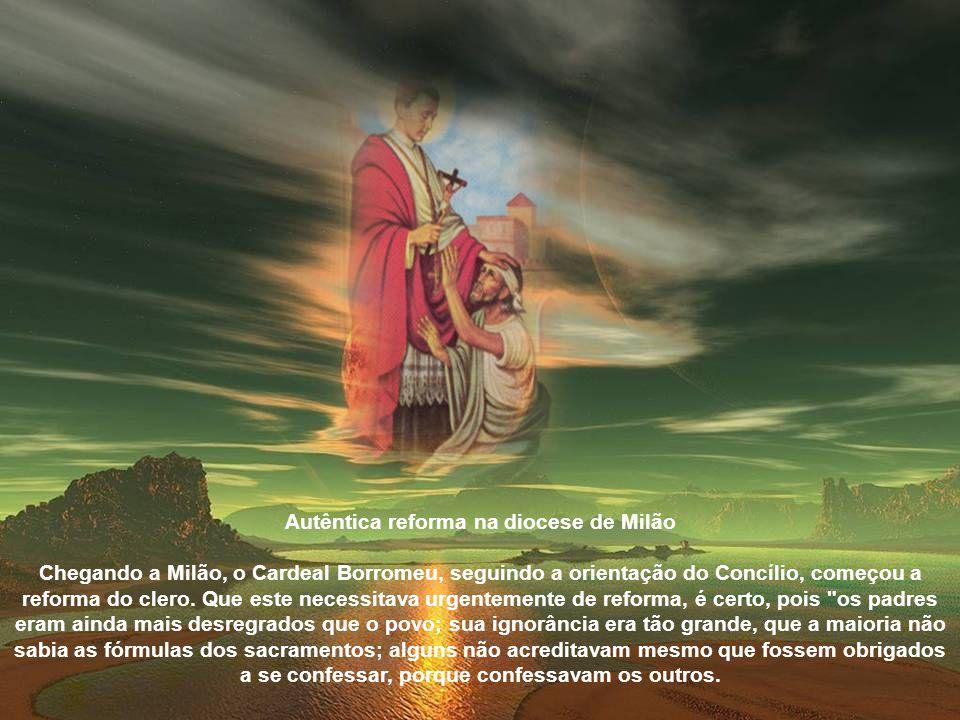 Cooperou também para a reforma da música sacra, decretada pelo Concílio, e pela adoção da polifonia proposta e executada pelo grande compositor Giovan