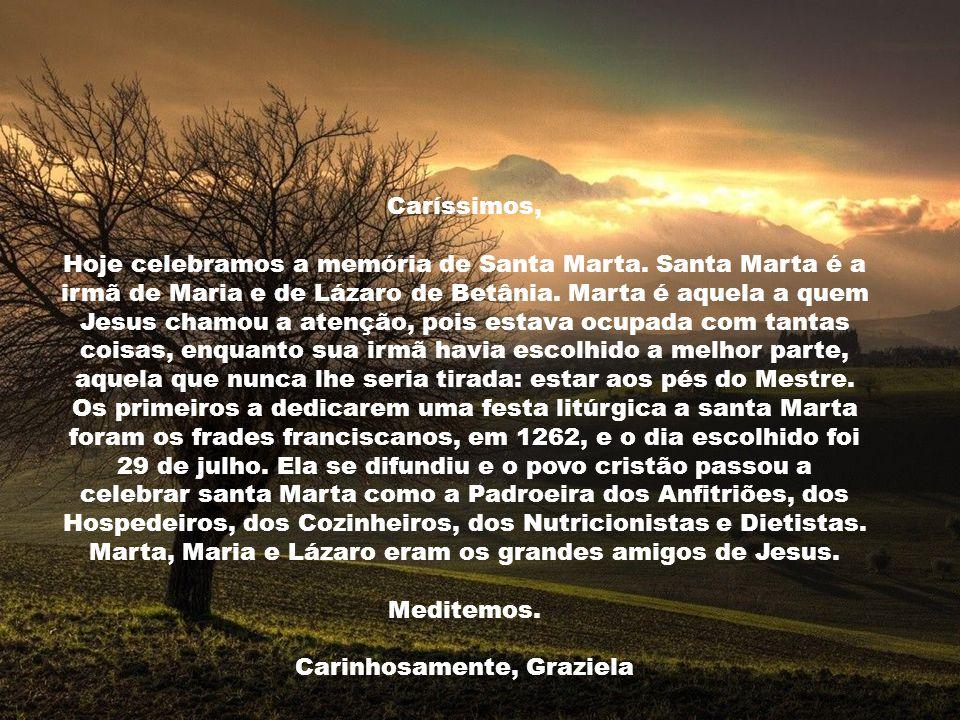 Eu sou a ressurreição e a vida. Quem acredita em Mim, mesmo que morra, viverá. E todo aquele que vive e acredita em Mim nunca morrerá. (Jo 11, 25-26)