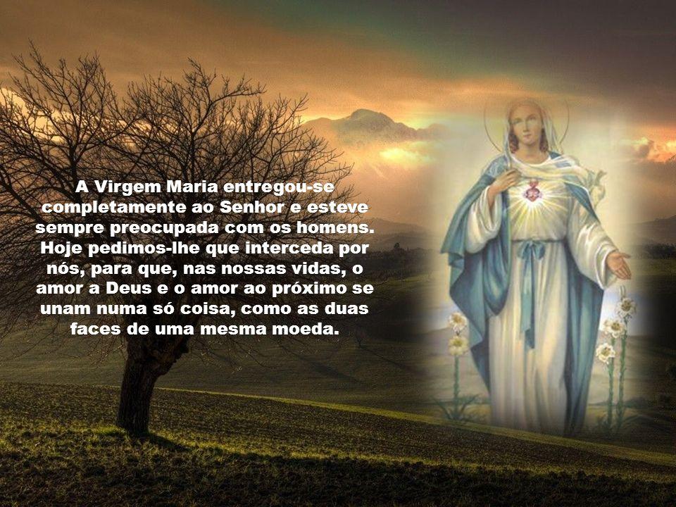 Para ser verdadeira virtude, a caridade deve estar ordenada. E o primeiro lugar é de Deus: amarás ao Senhor teu Deus com todo o teu coração e com toda