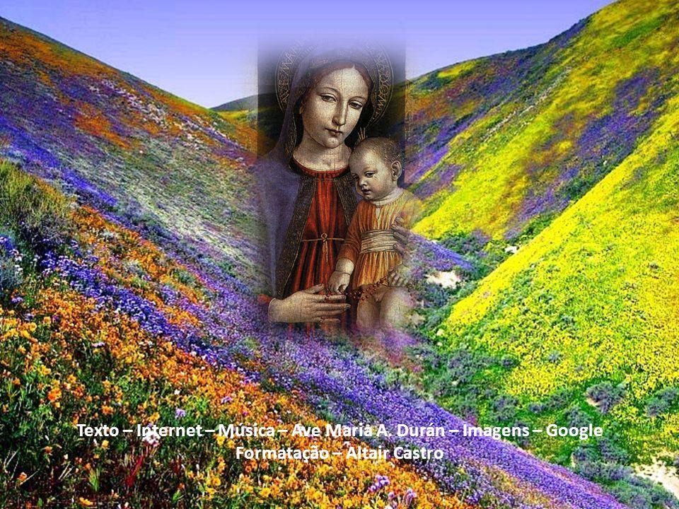 Oh! Vós, a quem ninguém tem implorado em vão!, Oh! celestial, Oh! piedosa, Oh! Doce Virgem Maria!, dignai-vos socorrer-me; vos peço por essa misericor