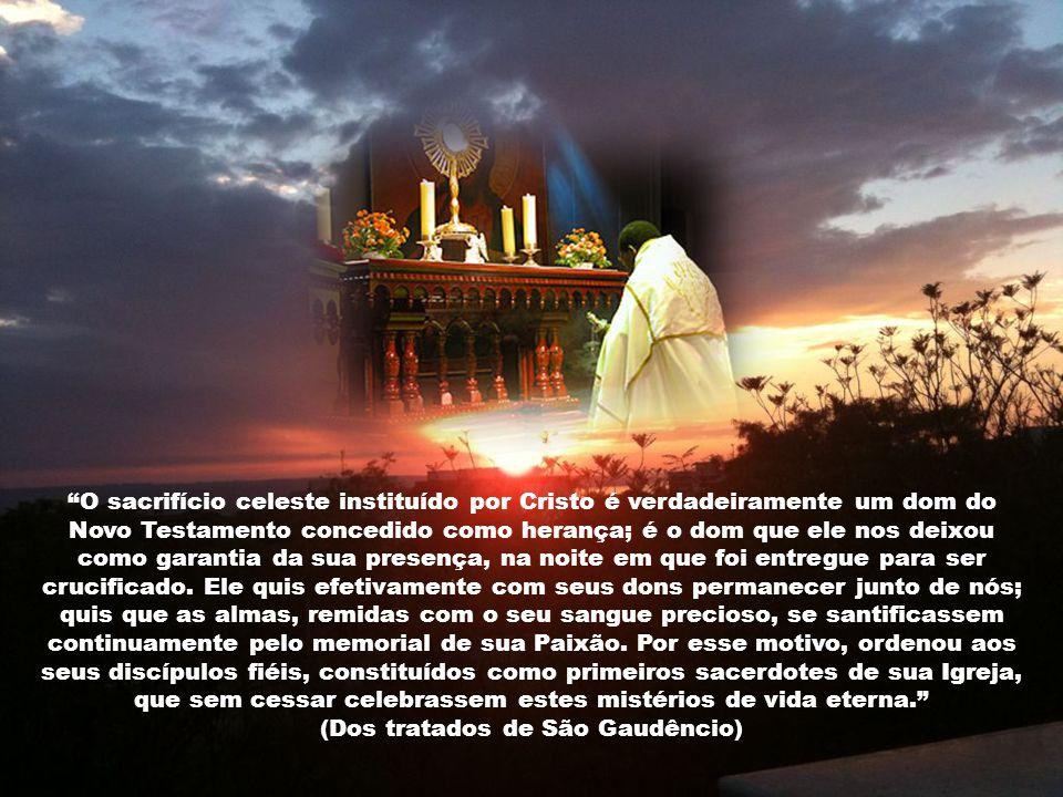 Se os homens compreendessem o valor da Santa Missa, para cada Santa Missa seria necessário chamar os guardas, a fim de que mantivessem em ordem as mul
