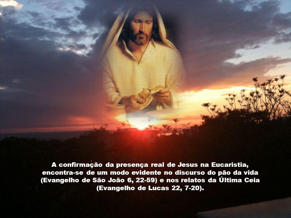 A Eucaristia é a saúde da alma e do corpo, remédio de toda enfermidade espiritual, cura os vícios, reprime as paixões, vence ou enfraquece as tentaçõe