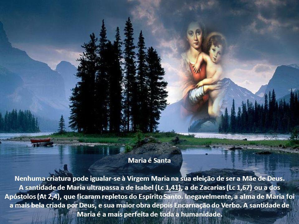 Este culto encontra a sua expressão nas festas litúrgicas dedicadas à Mãe de Deus e na oração mariana, tal como o Santo Rosário, resumo de todo o Evan