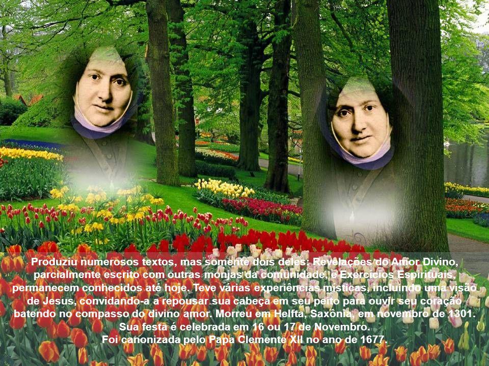 Gertrudes dedicou-se aos estudos, tornando-se especialista em literatura e filosofia.