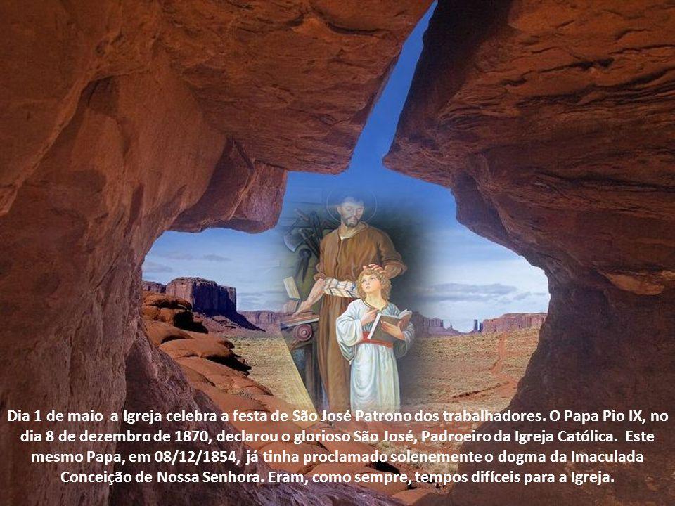 São Bernardo diz de São José: De sua vocação, considerai a multiplicidade, a excelência, a sublimidade dos dons sobrenaturais com que foi enriquecido por Deus.