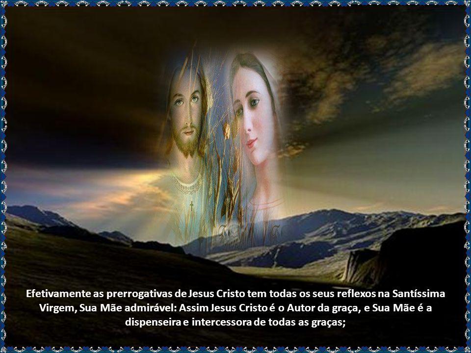 Mas, quando falamos no título da Realeza de Maria Santíssima, trata-se da Realeza que Lhe cabe por direito como Soberana, deduzida das suas relações c
