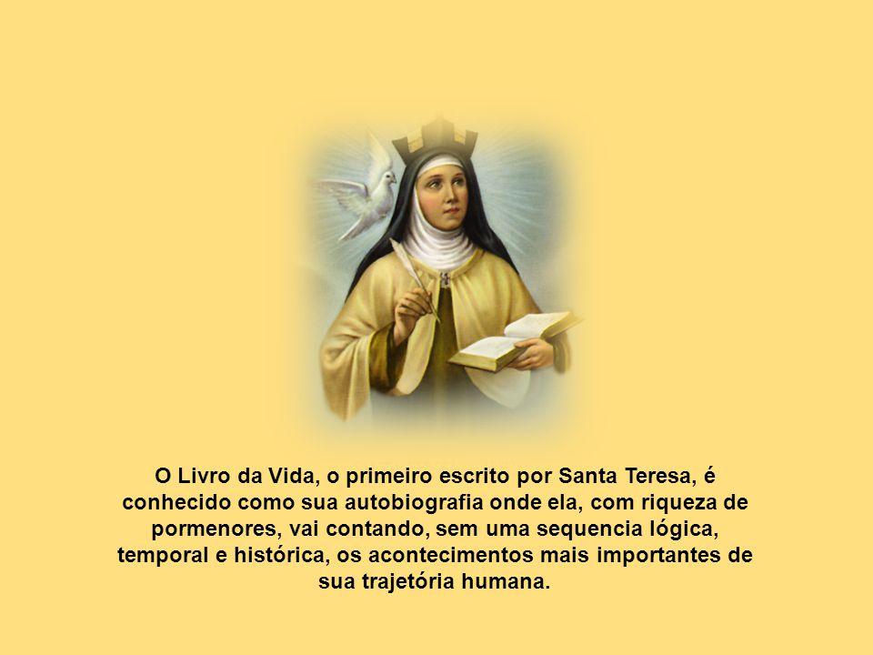 A palavra fundar é chave no livro das Fundações. Teresa tinha no sangue o espírito de multiplicar as coisas boas, sentia dentro dela um desejo imenso