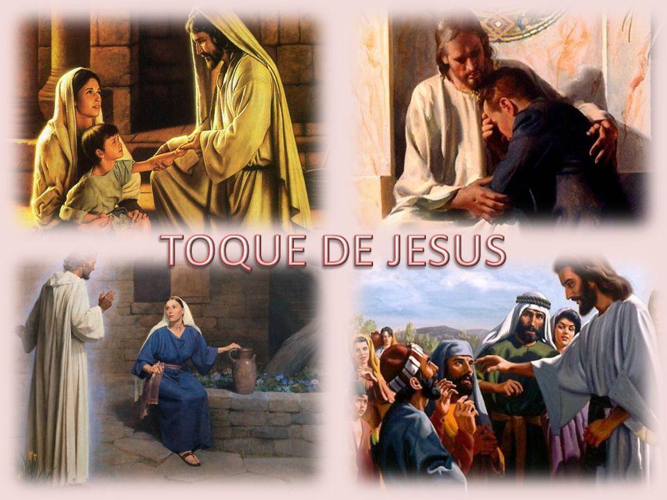 Senhor, queremos também hoje ser tocados por Ti, receber o seu toque de amor, cura, salvação e libertação.