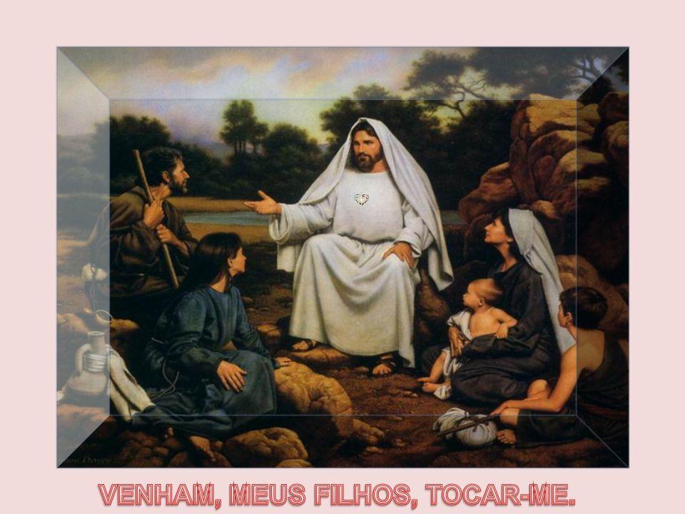 Caríssimos No ministério de cura de Jesus, além da importância da fé e da palavra, destaca-se o TOQUE. Jesus usou constantemente as mãos para realizar