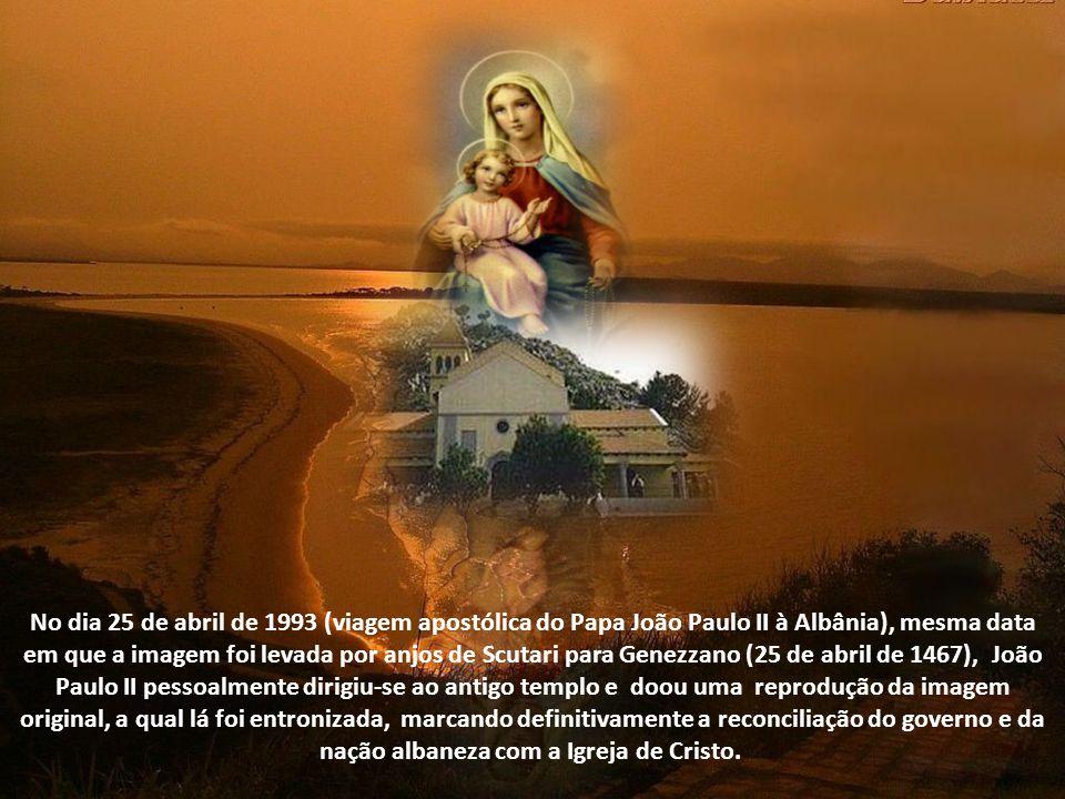 O fato foi levado ao Papa Paulo II (Pietro Barbbo - pontificado 1464 a 1471), que na ocasião foi quem iniciou o processo para apurar a veracidade dos