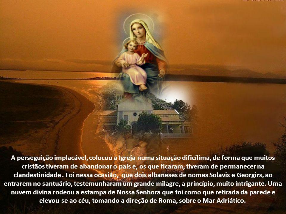 Havia, na idade média, também uma outra igreja, na cidade de Scutari - Albânia, onde o povo venerava com ardor uma imagem de Nossa Senhora do Bom Cons