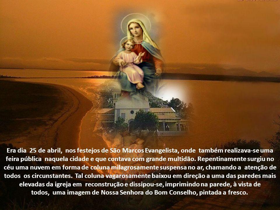 Há muito tempo, porém, uma irmã da Ordem Terceira de Santo Agostinho, chamada Pedrina, havia tomado à frente do empreendimento, e cuja reconstrução co
