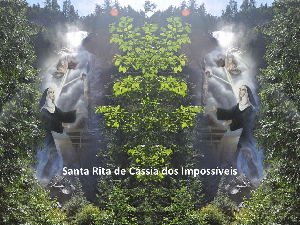 Texto - Frei Didier Esperidião Neto – Música - Hino Santa Rita– Imagens – Google Formatação – Altair Castro 22/05/2012 Santa Rita de Cássia nasceu em Roccaporena, na Itália, no ano de 1381.