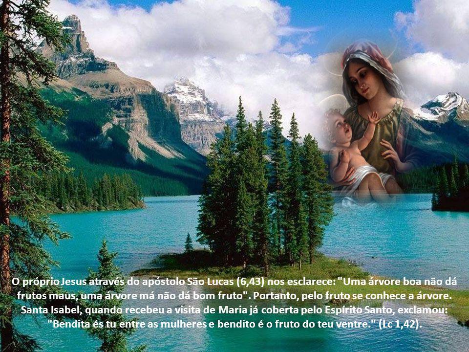 Ela é o ponto de união entre o céu e a Terra.Contribuiu para a obtenção da plenitude dos tempos.