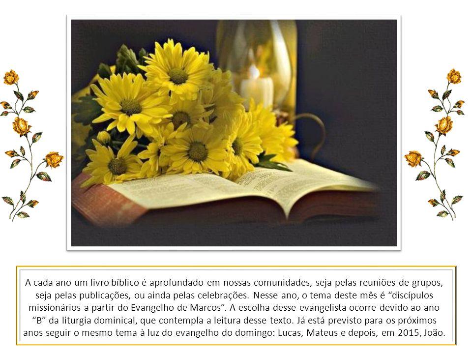 Estamos em mais um dos meses temáticos. Além dos temas dos textos bíblicos e os próprios da liturgia, a Igreja no Brasil nos sugere um assunto que per
