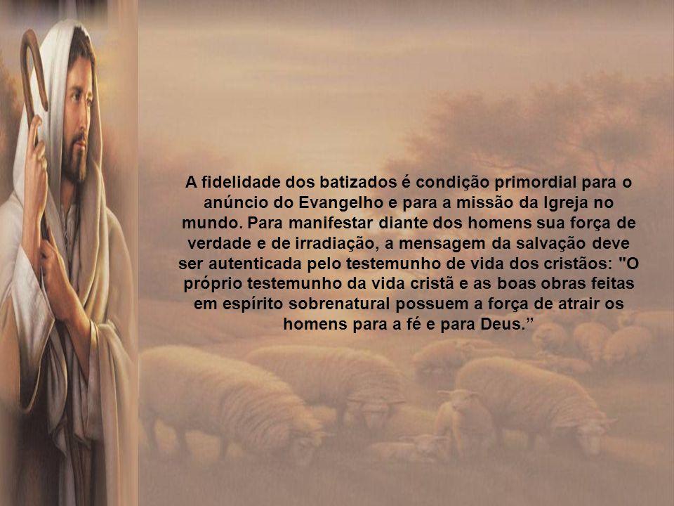 Cristo enviou seus apóstolos para que