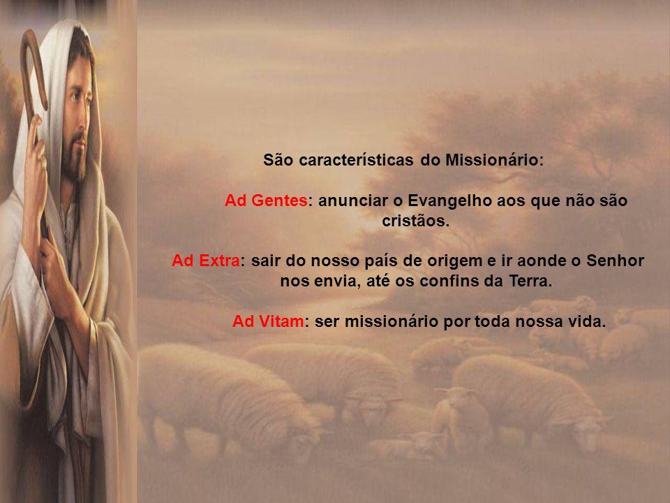 O mandato missionário do Senhor tem sua fonte última no amor eterno da Santíssima Trindade: