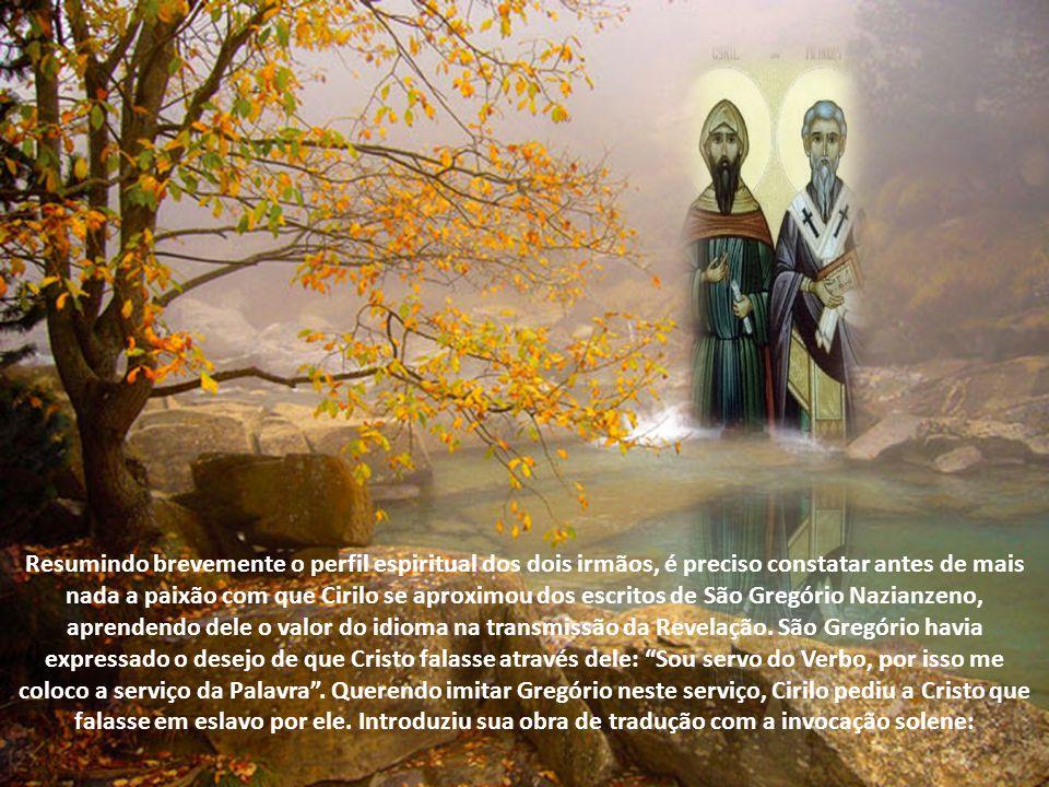 Acolhidos na Bulgária, puderam continuar a missão começada por Metódio, difundindo o Evangelho na terra de Hus. Deus, em sua misteriosa providência, s