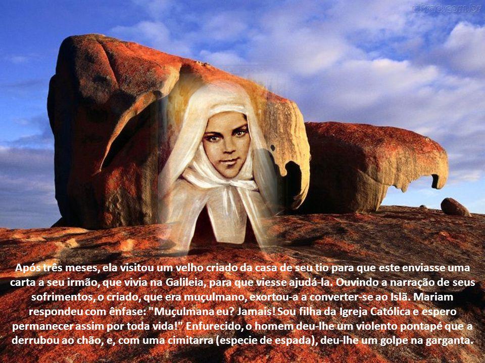A fundação do Carmelo de Belém Nossa Senhora havia predito que Irmã Maria seria a alma propulsora da fundação de Carmelos na Palestina.