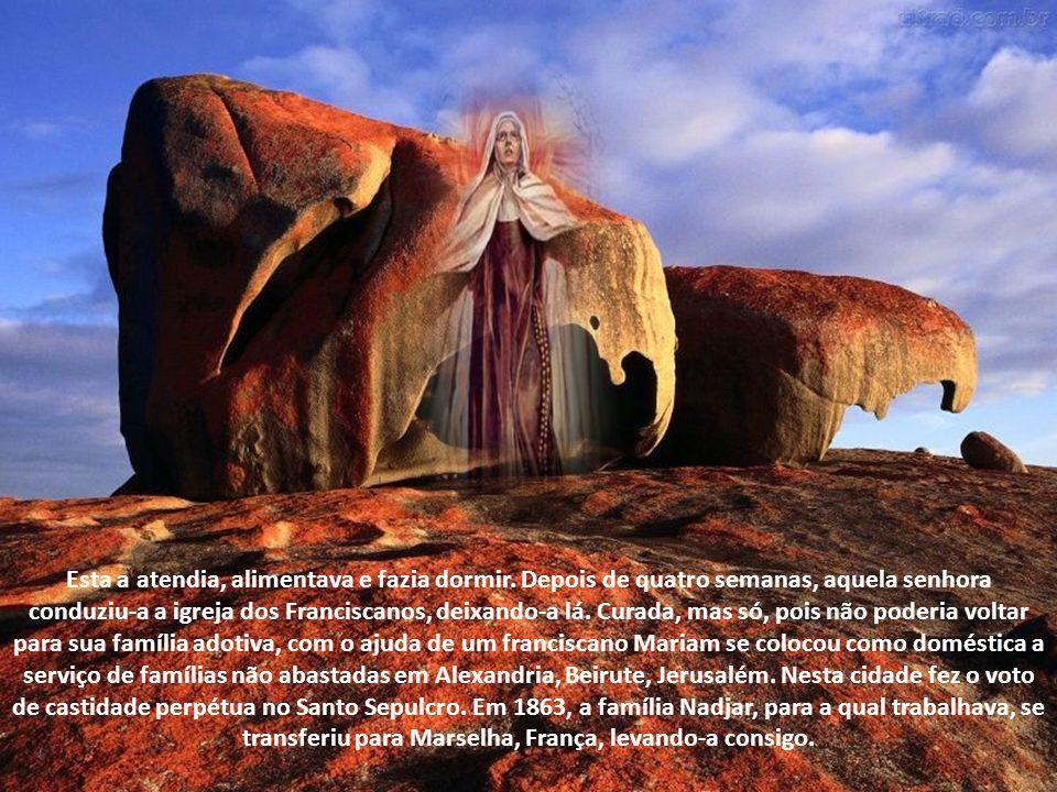 Ah, Senhor, quantas almas são mais abomináveis ainda do que o Cenáculo estar nas mãos dos muçulmanos, e nessas almas Vós sois obrigado a descer.