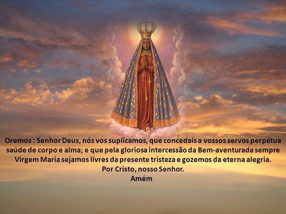 Vamos fazer este Tríduo pela realização da Festa de Nossa Senhora Aparecida, a realizar-se no dia 12/10/2013, na Esplanada dos Ministérios, em Brasíli