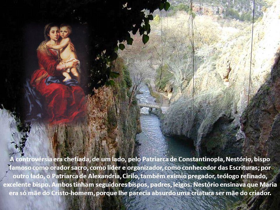 O primeiro dos quatro dogmas marianos é o da maternidade divina de Maria. Primeiro, historicamente. Primeiro, como razão de todos os outros. O dogma q