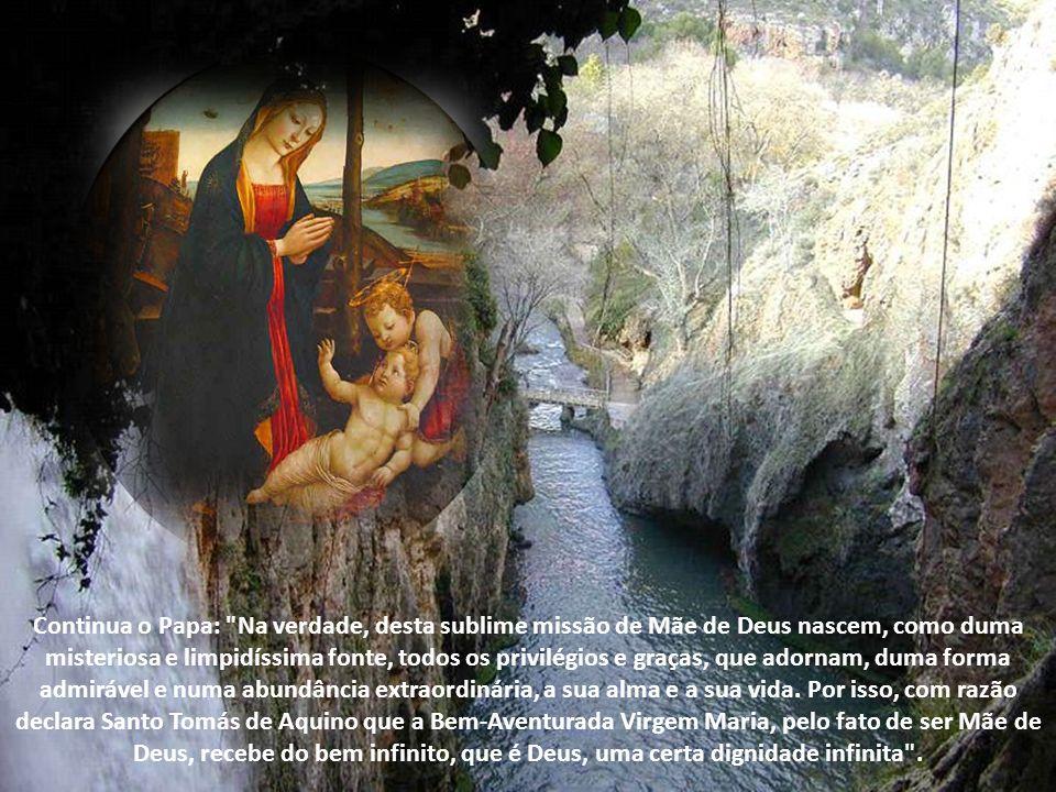 Na carta encíclica