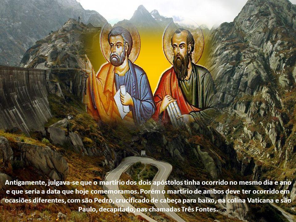 Depois da Virgem Santíssima e de São João Batista, Pedro e Paulo são os santos que têm mais datas comemorativas no ano litúrgico. Além do tradicional