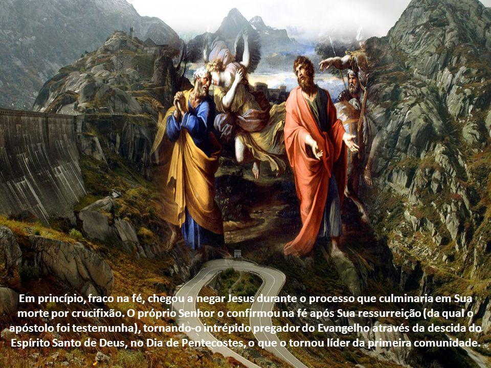 Os dois são considerados os pilares que sustentam a Igreja tanto por sua fé e pregação como pelo ardor e zelo missionários, sendo glorificados com a coroa do martírio, no final, como testemunhas do Mestre.