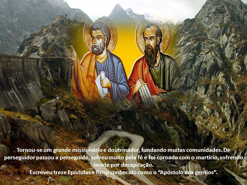 Paulo não fazia parte do grupo dos doze, converteu-se à fé cristã no caminho de Damasco, quando o próprio Senhor Ressuscitado lhe apareceu e o chamou
