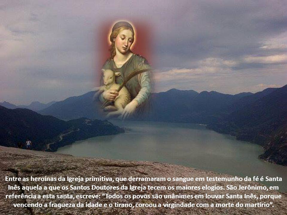 Santa Inês, Virgem e Mártir
