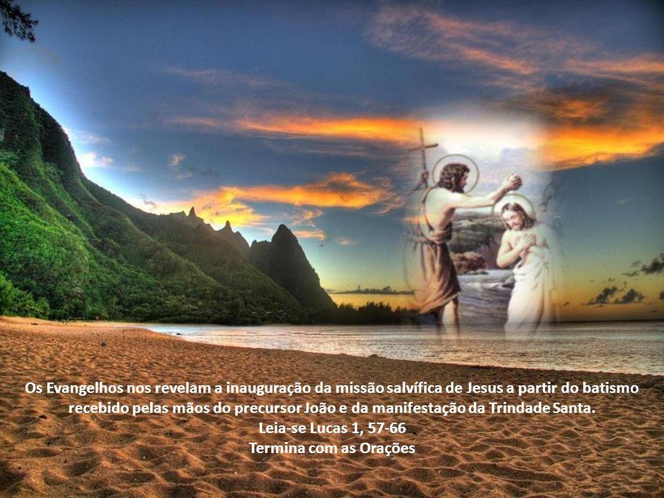 2º dia do Tríduo Iniciemos em nome do Pai, do Filho e do Espírito Santo. Amém História de São João O que o tornou tão importante para a história do Cr
