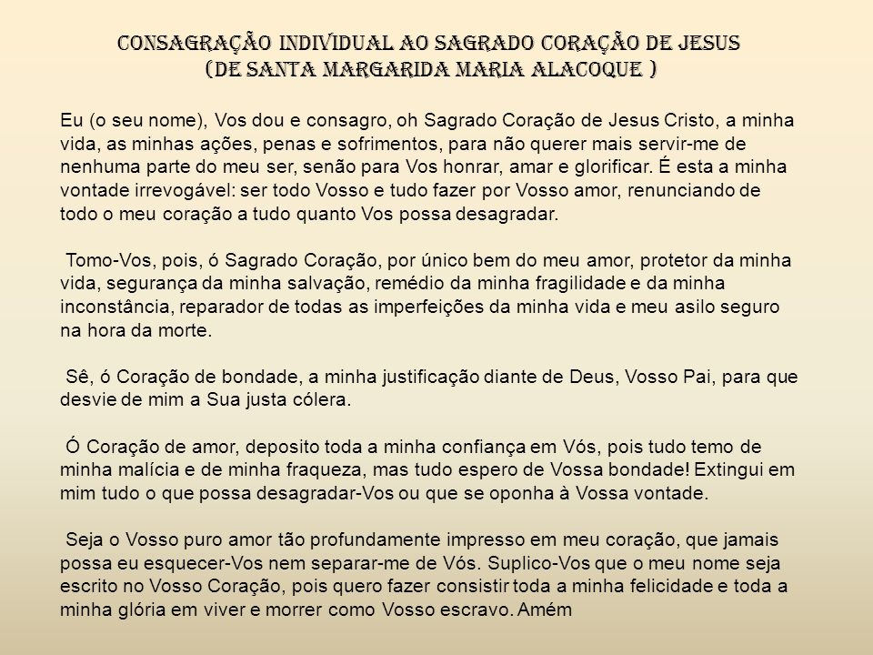 O Papa Leão XIII, nos diz: como o sagrado Coração é o símbolo e a imagem transparente da caridade infinita de Jesus Cristo, que nos estimula a dar-lhe