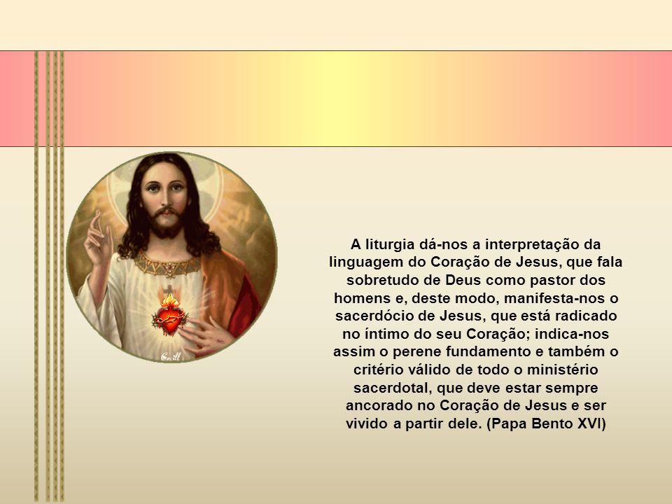 Celebramos a festa do Sagrado Coração de Jesus e, com a liturgia, por assim dizer lançamos um olhar dentro do Coração de Jesus que, na morte, foi aber