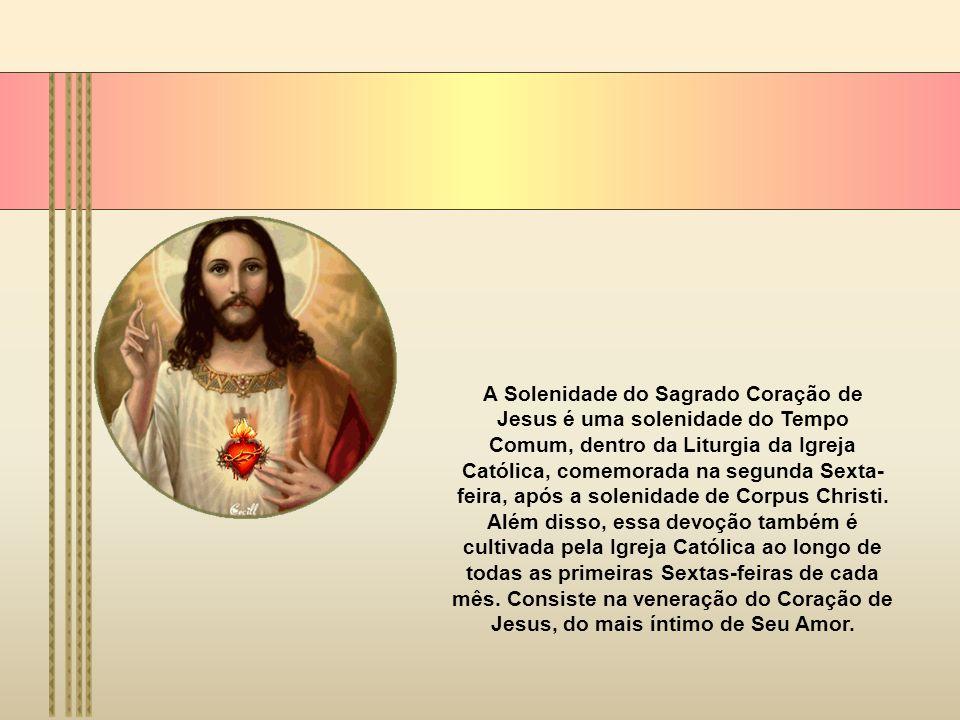 A liturgia dá-nos a interpretação da linguagem do Coração de Jesus, que fala sobretudo de Deus como pastor dos homens e, deste modo, manifesta-nos o s