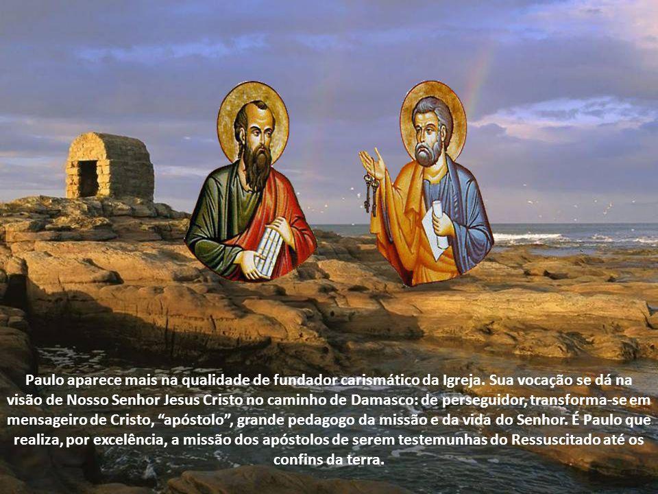 Eles têm a última responsabilidade do serviço pastoral. Pedro, sendo aquele que responde pelos Doze, administra ou governa as responsabilidades da eva