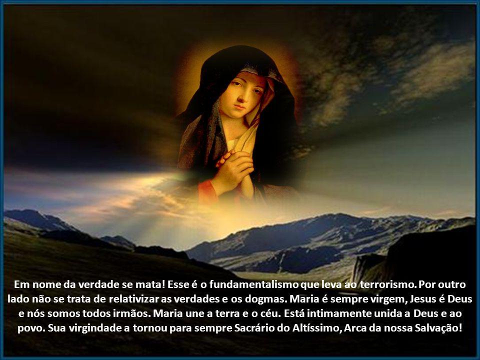Por isso algumas discussões sobre os dogmas marianos, especialmente o da virgindade perpétua devem fazer os anjos rir de pena dessa pobre humanidade q