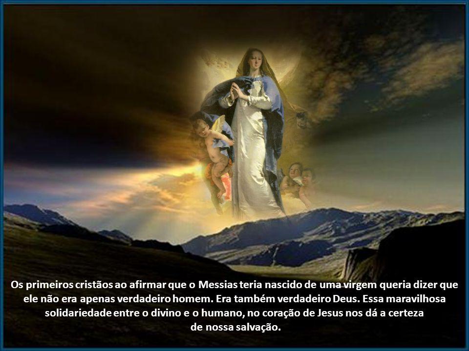 Há muitos devotos piedosos de Maria que veem na virgindade apenas uma virtude humana, um mérito que teria tornado aquela menina de Nazaré agradável ao