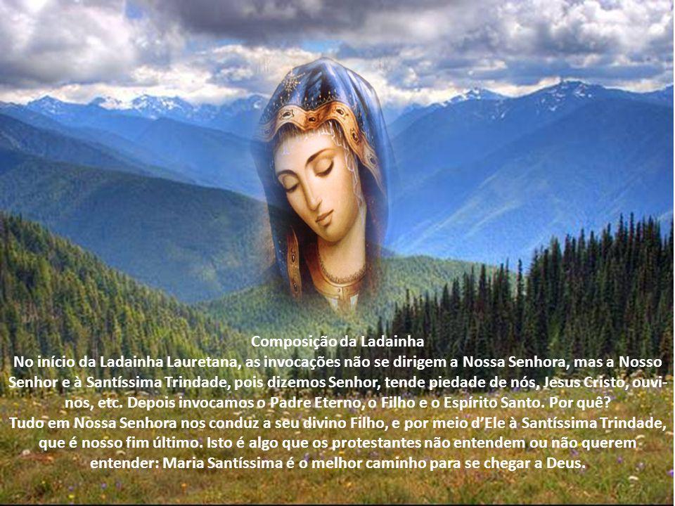 Com o correr do tempo, uma série de súplicas a Nossa Senhora foi sendo composta pelos peregrinos que ali iam, os quais A invocavam por seus principais