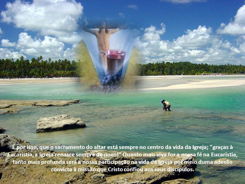 Na medida que vamos seguindo o Cristo Ressuscitado, seu Espírito que habita a Igreja nos inspira a ficarmos mais parecidos com Cristo, compreendendo e
