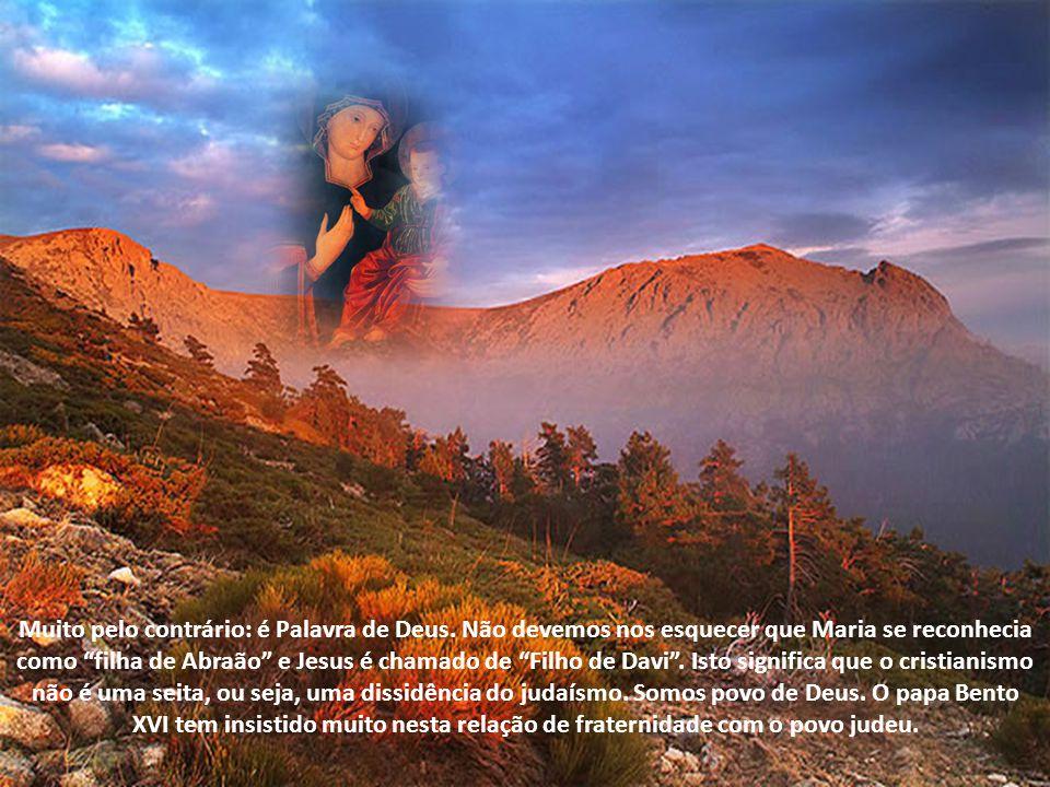 Dizer que Maria é Rainha dos Patriarcas mostra que não existe total descontinuidade entre a Antiga e a Nova Aliança. Nós cristãos, fazemos parte deste