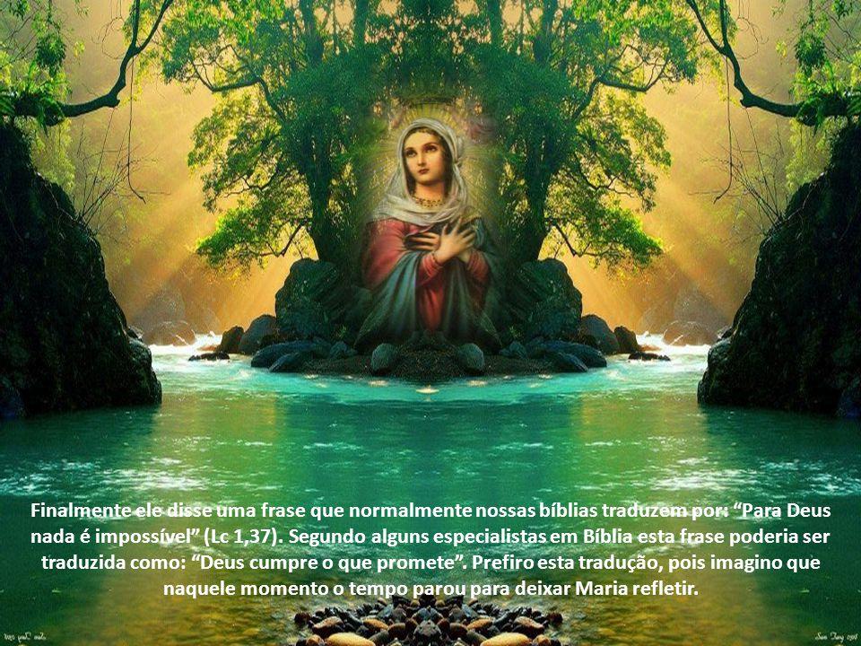 Quando o anjo Gabriel anunciou a Maria que ela seria a mãe do salvador, todas estas profecias chegaram ao ápice.
