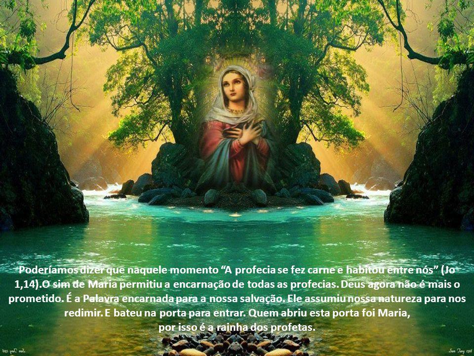 Ela perpassou a história de tantos profetas que ouviram Deus e proclamaram que o messias viria para libertar Israel.