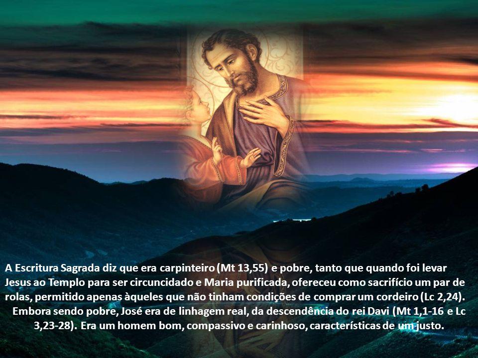 São José é um grande intercessor que temos diante de Jesus. Nunca tarda em nos ajudar a conseguir alguma graça que desejemos, desde que a peçamos com