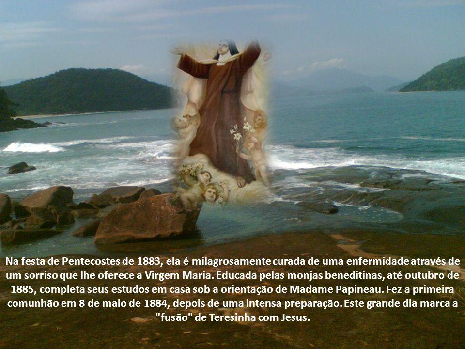 Para a Padroeira das Missões, a oração é uma arma invencível que Jesus lhe deu para tocar as pessoas.