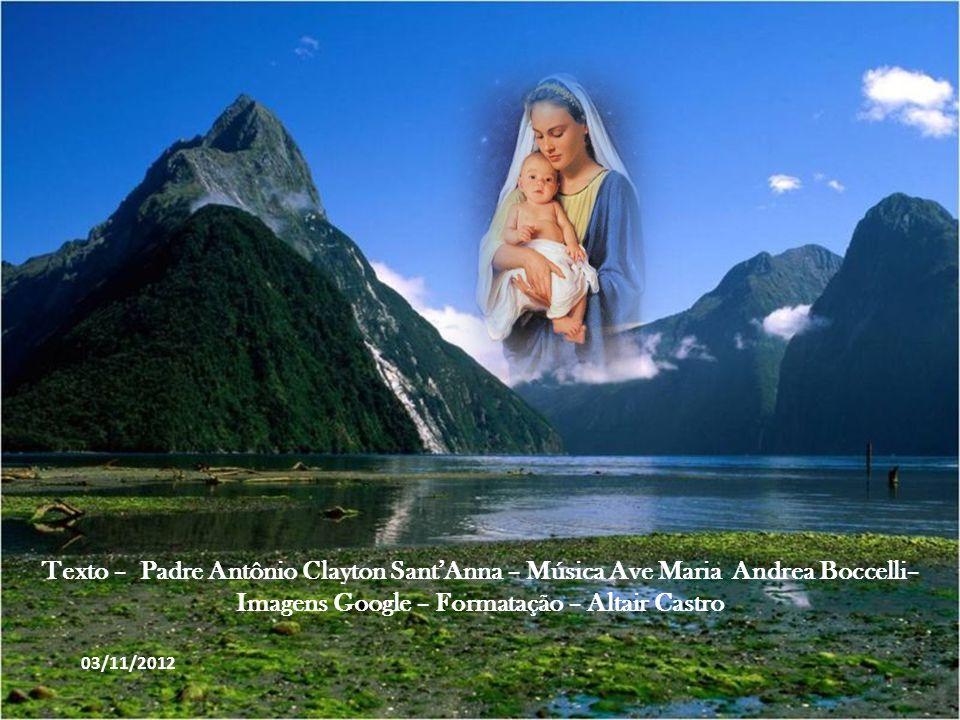 As características biológicas e psicológicas de Jesus de Nazaré foram formadas no útero de Maria. Depois, ela o alimentou, cuidou e educou como faz to